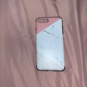 Protective Marble Phone Case/ Iphone 8 Plus